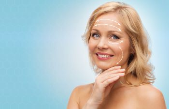 Smiling Woman With Cosmetic Procedures